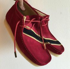 Image of Trinidad and Tobago Sycamore Style Custom Dyed Wallabee Clarks Boot