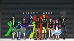 Mekakucity Actors 1080p Wallpaper