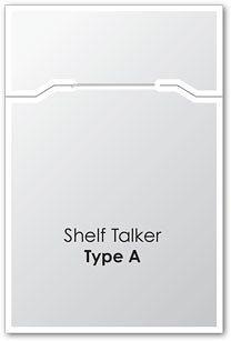 Shelf talker wobbler free mockup free mockups.