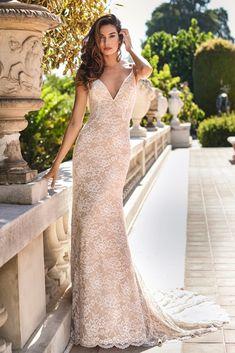 #JasmineBridal #F221007 Romantic Bohemian Wedding Dresses, Beautiful Wedding Gowns, Perfect Wedding Dress, Mermaid Trumpet Wedding Dresses, Mermaid Wedding, Plus Size Wedding Dresses With Sleeves, Jasmine Bridal, Bridal Gowns, Wedding Lingerie