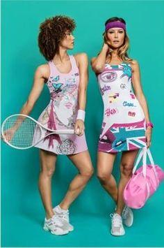 Yes, Wimbledon champion Marion Bartoli designed this! #Fila #RolandGarros