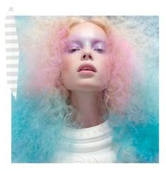 Gemini- Airy/ pastel hair & make-up