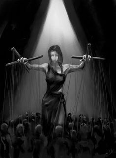 (I had actually created a character of the name Marionette the other day, and apparently those are dolls controlled by strings. Story Inspiration, Writing Inspiration, Character Inspiration, Fantasy Inspiration, Writing Characters, Female Characters, Beauty Magic, Fantasy Story, Dark Fantasy