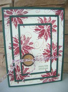 Triple Painted Poinsettia