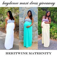 Head over to our Instagram @heritwine_maternity for your chance to win one of Kaydence Maxi Dresses. Contest ends 10:00 am PDT on 7/15. #giveaway