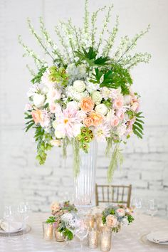 Centerpiece by Floral Verde, Cincinnati, OH