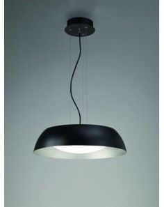 Colgante de techo pq negro Led Argenta 4841 de Mantra