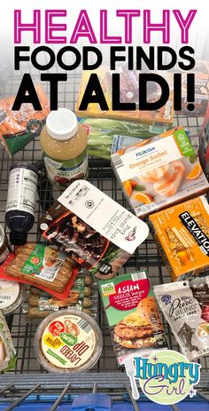 Healthy Food Finds at ALDI: BBQ Pork, Shrimp Taco Mix & More | Hungry Girl