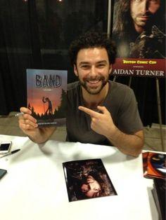 Aidan Turner signing @ Boston Comic-Con 8-3-2013