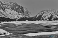 Frozen view - I'm not used to B&W, but sometimes the scene really calls for that...