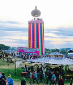 blog-Glastonbury Festival Ribbon Tower