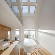 Frankreichs ModelHome: Ausgewogene Lichtverhältnisse im gesamten Haus führen zu angenehmen und gesunden Wohnklima.
