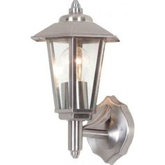 Torquay Exterior Coach Lamp, Stainless Steel