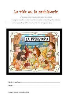 La vida en la prehistoria 4 b libro