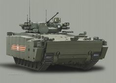 THE KURGANETS-25 Infantry Fighting Vehicle