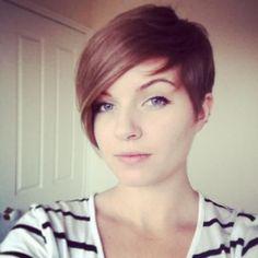 Asymétrique coiffures courtes ! C'est vraiment cool, non ? !! Avec une si belle coiffure vous êtes dans l'image.