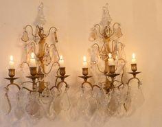 Images passionnantes de appliques pampilles chandeliers