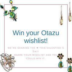 Have you entered yet?! Win up to 300euro worth of Otazu jewelry this Valentine's Day.    #otazuwishlist #win #sweepstakes #otazu #handmade #jewelry #jewellery #swarovski #welovejewelry #welovedesign #maximalism #maximalist #jewellerydesign #jewelrydesign #jewellerygram #dutch #dutchdesign #amsterdam #dutchblogger #fashionblogger_nl #bloggerstyle #jewelryaddict #jewelrylover #igersamsterdam #girlboss #ca…