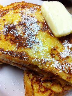 Cream Cheese Stuffed French Toast #recipe