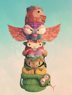 Universo Biró Totem Teddy Bear, Game, Toys, Illustration, Happy, Fictional Characters, Animals, Universe, Activity Toys