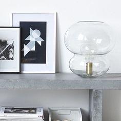 Large Bobbles Glass Lamp #designvintage #housedoctordk #housedoctor #interiordesign #interiors #lighting