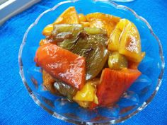 Sid's Sea Palm Cooking: Roasted Peppers with Balsamic Vinegar