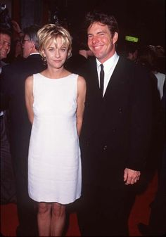 Meg Ryan and Dennis Quaid at event of French Kiss