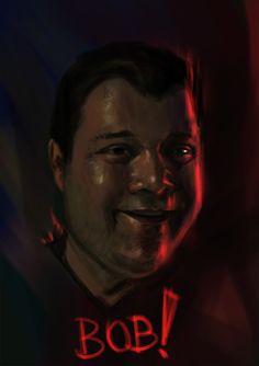 """@Behance projeme göz atın: """"From Stranger Things 2 Bob"""" https://www.behance.net/gallery/58637567/From-Stranger-Things-2-Bob"""