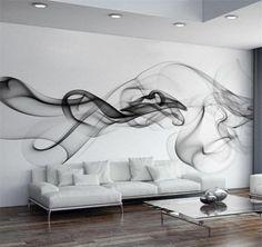Cheap living room wall paper, Buy Quality designer wall paper directly from China wall paper Suppliers: Custom Photo Wallpaper Modern Wall Mural Wallpaper Black White Smoke Fog Art Design Bedroom Office Living Room Wall Paper View Wallpaper, Modern Wallpaper, Photo Wallpaper, Designer Wallpaper, Stone Wallpaper, Cheap Wallpaper, Forest Wallpaper, Wallpaper Size, Widescreen Wallpaper