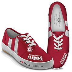 I Love The Crimson Tide Women's Shoes