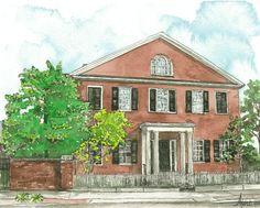 Bodley-Bullock House, Gratz Park, Lexington, KY; Home of Junior League of Lexington Headquarters