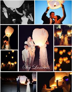 Sky lanterns give you the opportunity to create a truly unique experience for your event or celebration that will be remembered. You can be sure that everyone will want to share the same memories with their friends and family at their events! When sky lanterns are simultaneously released into the night sky they create a truly mesmorizing display, which is both noiseless and epic. They are ideally suited for a multitude of celebrations such as Weddings, Birthdays, Anniversaries, New Year parties…