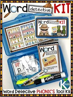 Motivate your young Word Detectives first grade readers to decode unknown words instead of guess with this phonics tool kit.  Instead of guessing at unknown word, your first grade reading program will begin to motivate your readers to use phonics strategies when they encounter an unknown word with the use of this Word Detective tool kit. Packed with phonics activities and reading strategies that will engage and MOTIVATE your students during your literacy centers and promote phonemic…