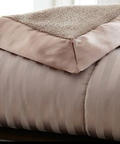 $44.99! Take a look at this Chocolate Down Alternative Blanket by Colonial Home Textiles on #zulily today!