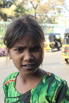 The Beggar Girl Child Bandra Reclamation, via Flickr.