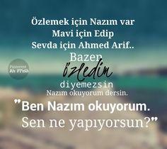 #NazımHikmet #EdipCansever #AhmedArif #şiir #kitap #şair #özlemek