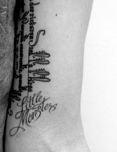 Lady Gaga's Little Monsters tattoo by Mark Mahoney