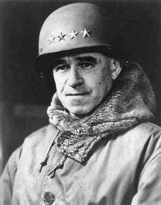 Portrait of General Omar Bradley.