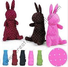 Free shipping,professional making umbrellas,6k ribs,five  fold  umbrellas,hand open,windproof,superlight,pocket rabbit parasol