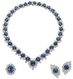 Harry Winston Sapphire and Diamond