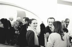 Maja Zieta with guests
