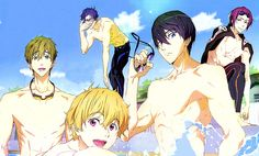 Pics For > Free Iwatobi Swim Club