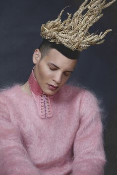 This Holy Ego: David Valensi shot by Rossella Vanon for Flux Magazine