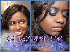 ♡♡Get Ready With Me #2♡♡: Smokey Purple And Lilac Eyes♡ Makeup Tutorial (Full Face Routine)