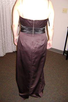 Charlottes bridal-Lacrosse; back of dress