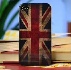 iphone 4 case iphone 4s case cover vintage UK flag