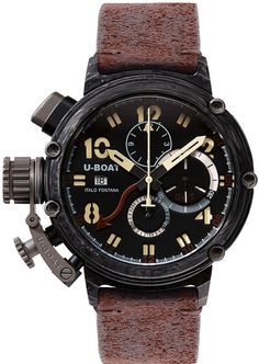 U-Boat Watch Chimera 48 Carbonio Limited Edition #bezel-fixed #bracelet-strap-leather #brand-u-boat #case-material-carbon-fibre #case-width-48mm #chronograph-yes #date-yes #delivery-timescale-call-us #dial-colour-black #gender-mens #gmt-yes #limited-edition-yes #luxury #movement-automatic #official-stockist-for-u-boat-watches #packaging-u-boat-watch-packaging #style-dress #subcat-chimera #supplier-model-no-7177 #warranty-u-boat-official-2-year-guarantee #water-resistant-50m
