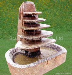 diy water features | Diy Stone Fountains Pictures