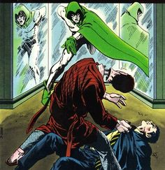 the Spectre — Jim Aparo. This pic used to scare me as a kid. The Spectre, Christopher Reeve, Dc Comics Characters, Classic Comics, American Comics, Dead Man, Comic Book Artists, Comic Character, Caricature
