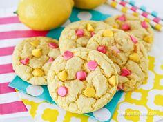 Colorful Lemon Cookies. EZ!